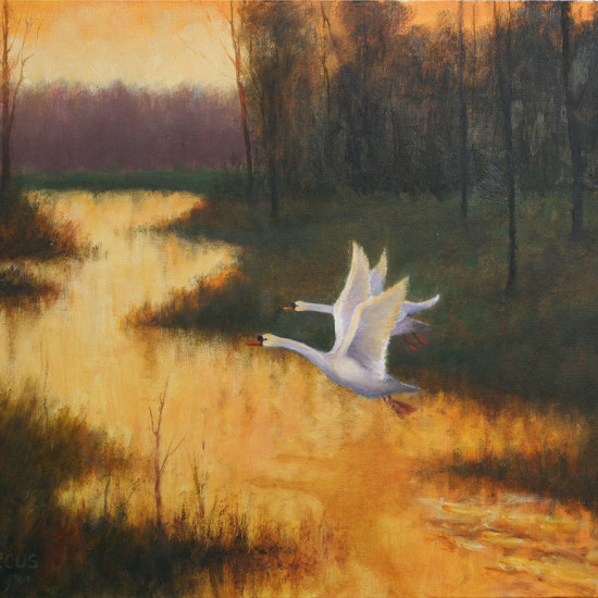 Robert Harcus - Leaving the river