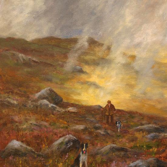 Robert Harcus - Rising mist Glenmalure