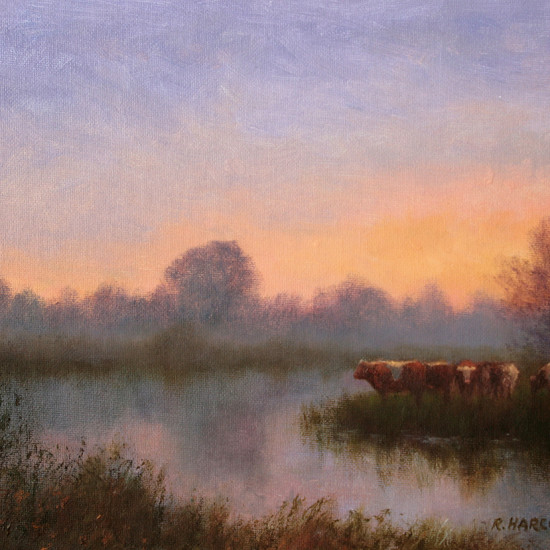 Robert Harcus - Early Morning Thomastown